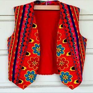 RADICAL Vintage 70s Psychedelic Reversible Vest